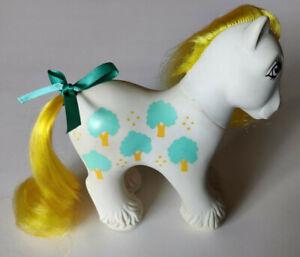G1 My Little Pony DADDY APPLE DELIGHT Vintage MLP 1980's Loving Family Pony CB