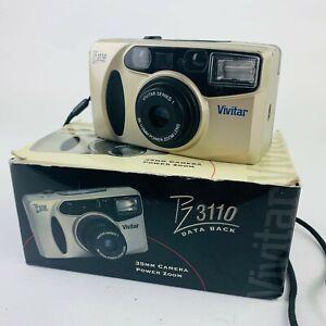 Vivitar PZ3110  35mm Power Zoom Film Camera with Box 38-110mm