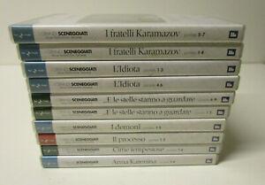 DVD LOTTO 10 DVD I GRANDI SCENEGGIATI DELLA TELEVISIONE ITALIANA RAI TRAD  FR-R3