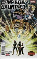 THE INFINITY GAUNTLET #1 MARVEL COMICS 2015 BAGGED AND BOARDED