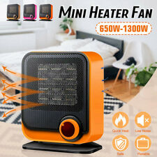 220V 650W-1300W Mini Heater Portable Electric Heater Air Warmer Fan Home