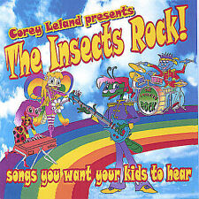 The Insects Rock! Songs You Want Your Kids to Hear, Vol. 1 Corey Leland CD, New