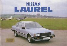 Nissan Laurel 1983-84 UK Market Sales Brochure 2.0 2.4