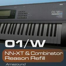 KORG 01W REASON REFILL 200 NNXT & COMBINATOR 2607 SAMPLES 2GB 24BIT MAC PC