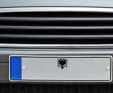 Albanischer Adler Nummernschild Autoaufkleber | Sticker Albanien Kosovo  2O009_1