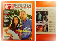 Kate & William, première images du prince George -Paris Match N° 3353-08/2013