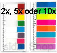 Kores Pagemarker - Folie 12 X 45 Mm 8 X 15 Blatt