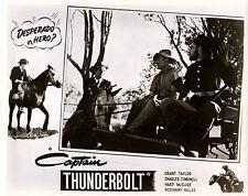 CAPTAIN THUNDERBOLT ORIGINAL LOBBY CARD GRANT TAYLOR 1953 AUSTRALIAN