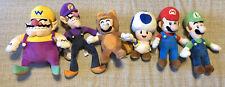 Super Mario Bros. Collection Plush 6 Set Mario, Luigi And More (Nintendo)