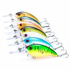 Wobbler Crank Fishing Lure 7pcs Artificial Bait 11cm/14g Crankbait Jerkbait Shad