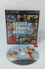 Grand Theft Auto V   GTA 5   PlayStation 3   ps3   d'occasion en neuf dans sa boîte instructions