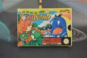 Super Mario World 2 Yoshi's Island (super nintendo Snes 1995) Solo The Box