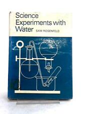 Science experiments with water Rosenfeld, Sam 1965 Book 35671