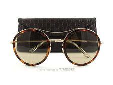 e1c57e47282 New Gucci Sunglasses GG 4252 N S Havana Orange Gold I93VG Authentic