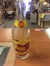 Vintage VERY RARE -PENN  Beverages DERBY, Conn. Soda Bottle QT. VERY NICE LOOK