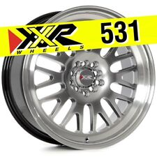 XXR 531 18x8.5 5-100/5-114.3 +35 Chromium Black Wheels (Set of 4)