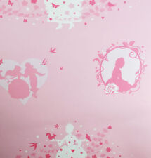 Girls Paper Floral Wallpaper Rolls & Sheets