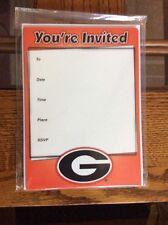 University Of Georgia Bulldogs (10 Count With Envelopes)