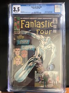 Fantastic Four #50 CGC 3.5 3rd appearance of Silver Surfer!KEY ISSUE!L@@K!