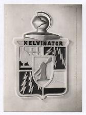 PHOTO Publicité Pub Advertising Kelvinator Écusson Curiosité Vers 1950 Armure