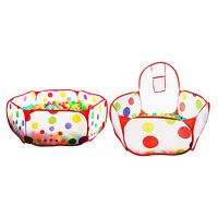 Baby Play Tent Toddler Safe Play Yard Easy Assemble Foldable Playpen Child Gifts