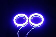 Hot 2pcs 60mm Blue Cotton Angel Eyes Halo Ring  SMD Light Lamp LED Cover G186