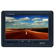 "Parksafe ps025 7 ""COLORI AUTO FURGONE RETROMARCIA su poggiatesta o Dash Mount QUAD MONITOR"
