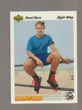 1991-92 Upper Deck #54 Pavel Bure rookie card, Vancouver Canucks HOF