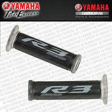 2015 YAMAHA YZF R3 YZFR3 NEW GENUINE BLACK GRIPS BY PROGRIP 1WD-F62B0-V0-00