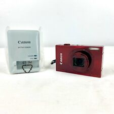 Canon PowerShot ELPH 520HS Red Digital Camera w/ Charger & New Battery 10.1MP