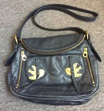 Marc Jacobs Leather Satchel Swallow Bag.