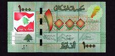 1000 Livres COLORIZED >> I LOVE LEBANON <<  Limited Edition  Lebanon
