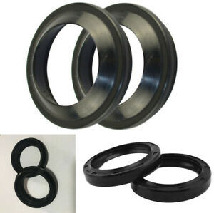 Motorcycle Front Fork Damper Oil Seal Dust Seals for HONDA CR250 CRF250R CRF450X
