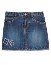 NEW  Denim  GYMBOREE  Glamour Safari Fashion  SKORT Skirt  Flower  Size 12  NWT