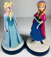 "Stunning Anna Elsa Statues Disney Large 10"" Figurines Hong kong Gnome Factory"