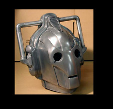 Space 1999 Prop **1 Dr Who CYBER-MAN CYBER MAN head Prop  Awesome Display+ Stand