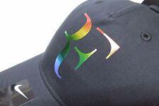 New Nike RF Roger Federer Hat Cap 835536-010 Black