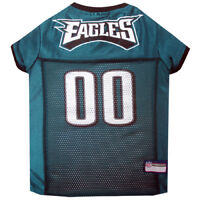 Philadelphia Eagles NFL Officially Licensed Pets First Dog Pet Jersey XS-2XL NWT
