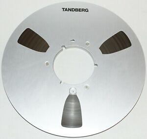"""VINTAGE ORIGINAL TANDBERG METAL TAKE UP REEL 10.5""""x 1/4"""""""