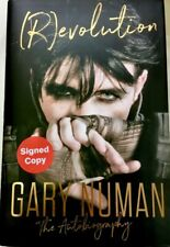 Signed Book - (R)evolution:The Autobiography Gary Numan Revolution First Edition
