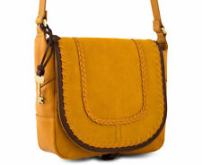 Fossil Lennox Saddle Bag - Artisan Gold