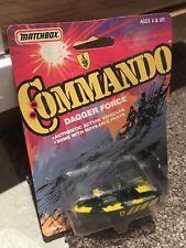 MATCHBOX - Commando Dagger Force - Police Launch - Vintage die cast 1988