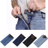 1 Pack Elastic Waist Extender Strong Adjustable Pants Button Easy Fit