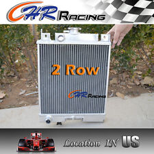 2ROW Aluminum RADIATOR FOR 89-94 SUZUKI SWIFT GTI/GA/GS/GT/GL/GLX 1.0 1.3 1.6 MT