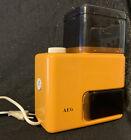True Vintage Kaffeemühle AEG orange Typ KMD 101 Kaffee 70er Jahre