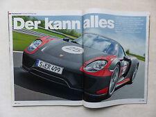 Porsche 918 Spyder 612 PS - Fahrbericht - Auto Motor Sport Heft 11/2013