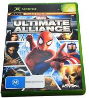 Marvel: Ultimate Alliance XBOX Original PAL *Complete*