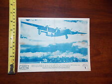 RARE OLD PHOTO BOMBER B-24 HI SPEED GAS STATIONS OFFICIAL PHOTO #1 VICTORY CLUB