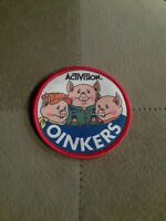 Atari Video Game Vintage 80's Activision Award Patch  ▪︎ OINKERS ▪