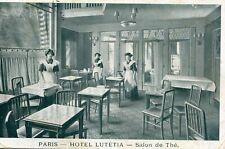 Carte PARIS Hôtel Lutétia Salon de Thé